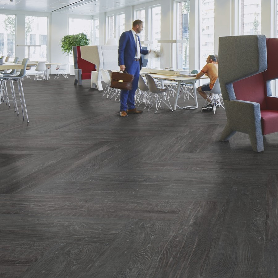 Виниловый ламинат Forbo Allura Wood Dark Silver Rough Oak